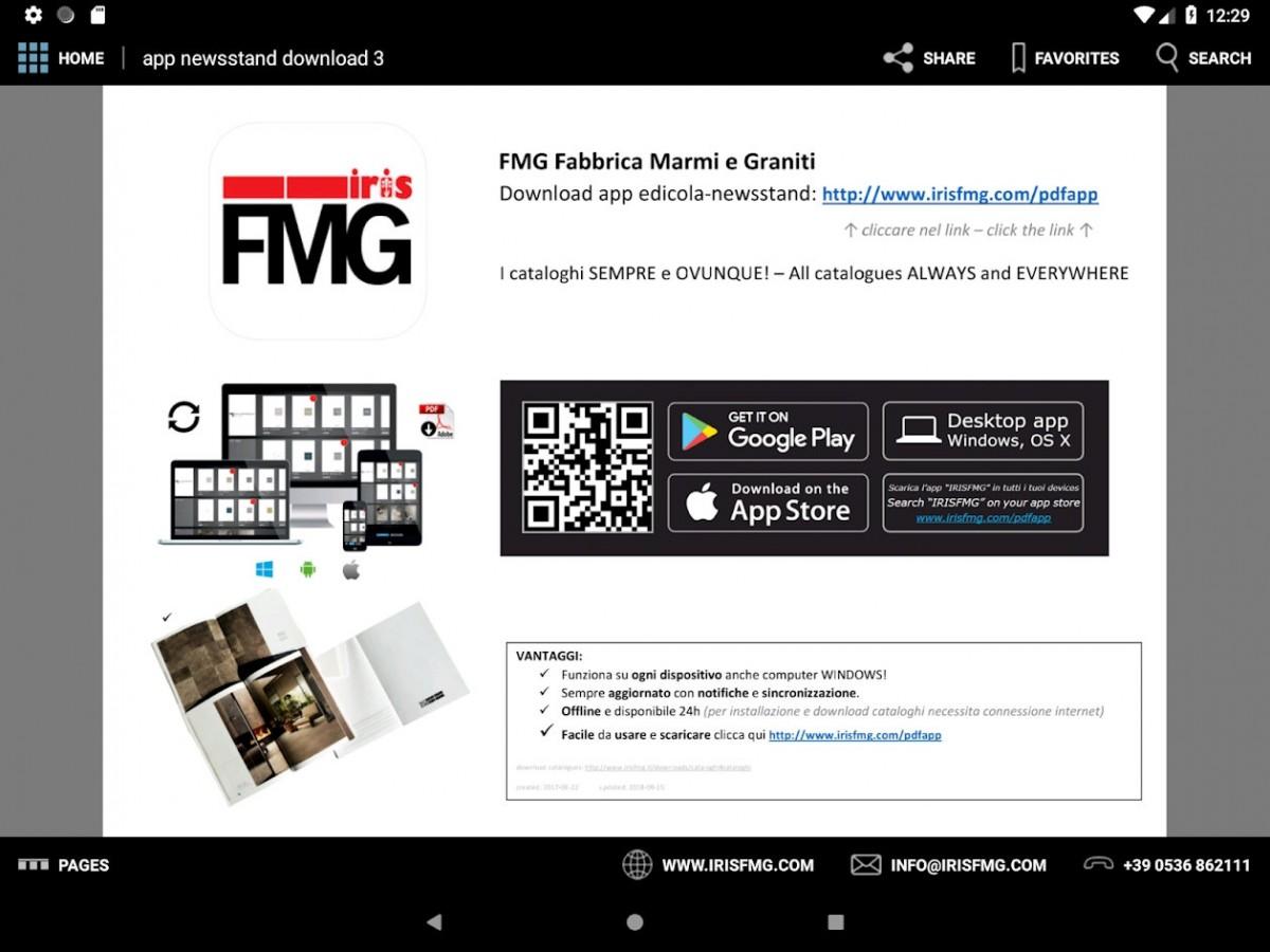 Stiahnite si novú aplikáciu od IRIS Ceramica a FMG