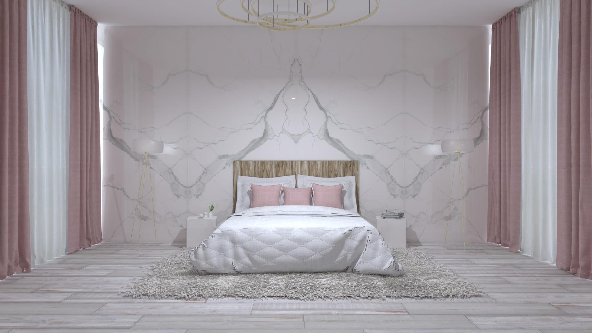 Veľkoformátové obklady súčasťou obývačky alebo spálne?